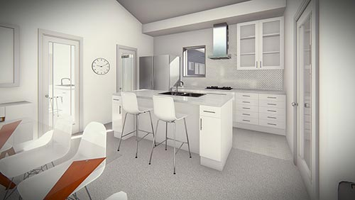 Kelhaus: Elliot A Duplex - Interior - Kitchen