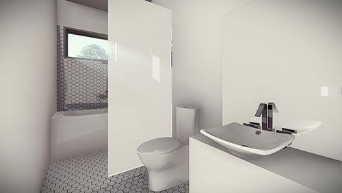 Kelhaus: Elliot A Duplex - Interior - Bathroom